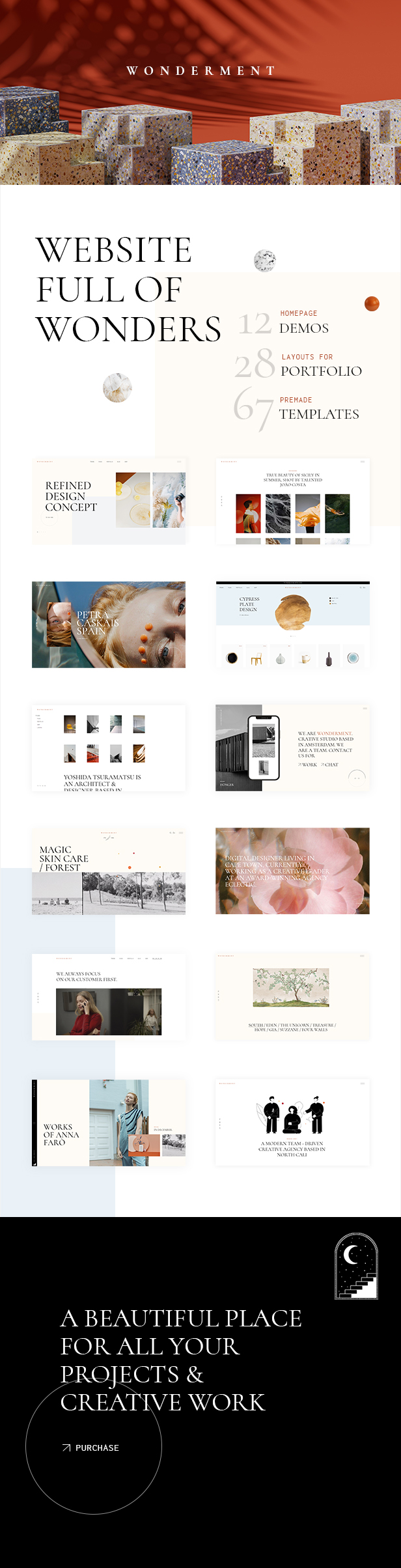 Wonderment - Agency Theme - 2